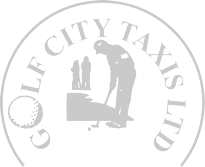Golf City Taxis, St Andrews Logo
